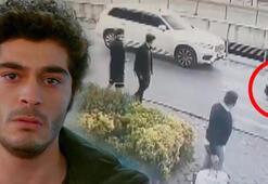 Oyuncu Burak Deniz, Arnavutköy sahilinde kaza yaptı Kaza anı kamerada...