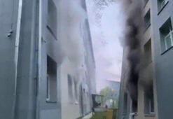 Son dakika... Corona virüs hastalarının bulunduğu hastanede yangın çıktı