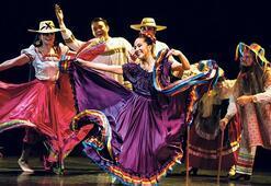 Anneler için renkler ve dans