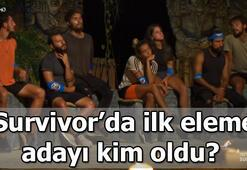 Survivorda ilk eleme adayı kim oldu Survivor 2020de bu haftanın ilk eleme adayı kim oldu İşte ilk eleme adayı