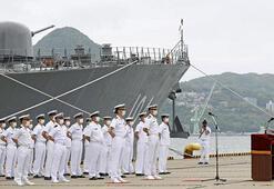 Japon savaş gemisi Orta Doğuya gidiyor: 200 mürettebatla yola çıktı