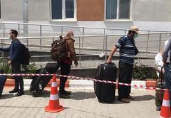 Somali ve Cibuti'den getirilen 84 kişinin karantina süresi doldu
