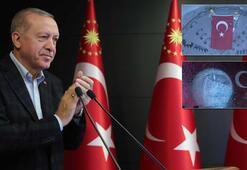 Cumhurbaşkanı Erdoğan dev projenin açılış töreninde konuşma yaptı