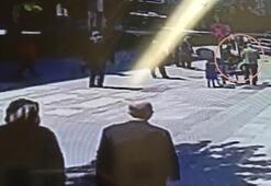 Yaşlı çift, motosiklet çarpması sonucu yaralandı