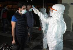 Kuveytten yurda getirilen 248 kişi, Yozgatta yurda yerleştirildi