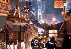 Kadıköyde balık restoranı alev alev yandı