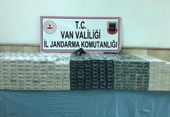 2 eve şok baskın 8 bin paket kaçak sigara ele geçirildi