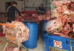 Adanada tam 1,5 ton kaçak kelle paça ele geçirildi