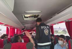 İstanbulda araç giriş-çıkışları denetleniyor