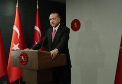 Cumhurbaşkanı Erdoğandan corona virüsle mücadele paylaşımı