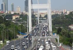 Son dakika... İstanbulda trafik felç Durma noktasına geldi