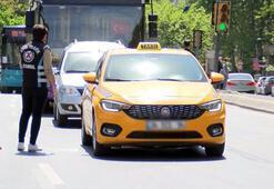 İstanbulda taksilere yönelik koronavirüs denetimi