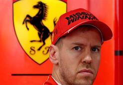 Ferrariden Sebastian Vettel kararı Sözleşmesi uzatılmayacak...