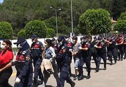 son dakika haberler: Antalyada Mavi Kelebek uyuşturucu çetesine 24 tutuklama