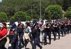 Antalyada Mavi Kelebek isimli uyuşturucu çetesinin 24 üyesi tutuklandı