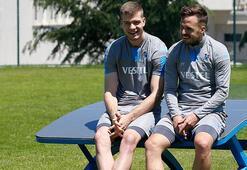 Trabzonsporda yüzler gülüyor