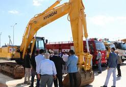 Şanlıurfadan Resulayn ve Tel Abyada 26 iş makinesi gönderildi