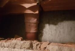 Esenyurtta kolu asansör ve duvar arasına sıkışan çocuk duvar kırılarak kurtarıldı