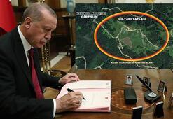 """Cumhurbaşkanı Erdoğan onayladı """"Kesin korunacak hassas alan ilan edildi"""