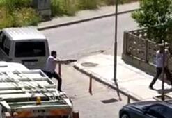 Salihlide yol ortasında silahlı saldırı düzenleyen şahıs tutuklandı