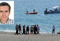 Denize gireceğim deyip kaybolan doktorun cansız bedenine ulaşıldı