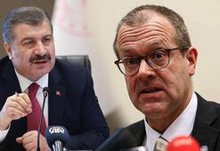 Sağlık Bakanı Koca, DSÖ Avrupa Direktörü Kluge ile görüştü
