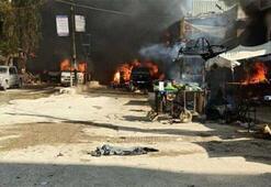 Afrin'de terör saldırısı: 2 yaralı var