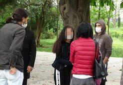 Gezi Parkında küçük kıza taciz iddiası
