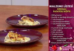 Kremalı Patatesli Köfte tarifi ve malzemeleri &  Kremalı Patatesli Köfte yapılışı