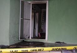 Konyada evde çıkan yangında bir kişi yaralandı