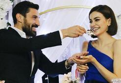 Galatasaraylı Şener Özbayrak, Şilan Makal ile evlendi