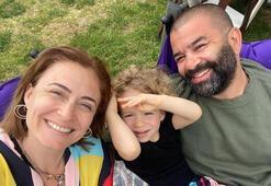 Ceyda Düvenciden baba-oğul paylaşımı: İkisine de aşığım