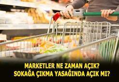 Marketler açık mı 4 gün sokağa çıkma yasağında 16-17-18-19 Mayısta marketler ve bakkallar açık mı, yasakta saat kaça kadar açık