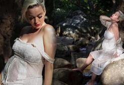 Katy Perrynin hamilelik pozu