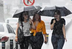Son dakika Meteorolojiden uyarı geldi Önce sıcak sonra kuvvetli yağış...