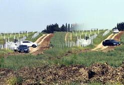 Jandarma İstanbul-Tekirdağ sınırındaki tarlalarda motosikletli denetim yaptı