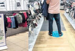 Milliyet AVM'de 10 metrekareye 1 müşteri düşüyor