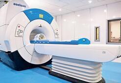 Yerli MR cihazının yanına mobil x-ray