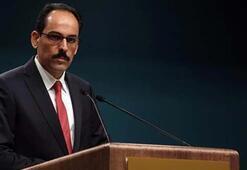 Cumhurbaşkanlığı Sözcüsü Kalından İsrailin işgal ve ilhak planına tepki