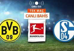 Dortmund - Schalke maçı Canlı Bahis ve Tek Maç seçenekleriyle Misli.com'da
