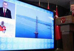 Çanakkalede tarihi tören Cumhurbaşkanı Erdoğandan önemli açıklamalarda bulundu