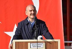İçişleri Bakanı Soylu, Çakırsöğüt Jandarma Tugay Komutanlığında konuştu