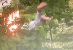 Son dakika... Büyükçekmecede 2 çocuk annesi yanarak 6. kattan düştü