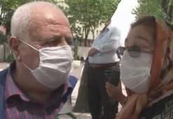 Yaşlılar arasında sokak ortasında kısıtlama tartışması yaşandı