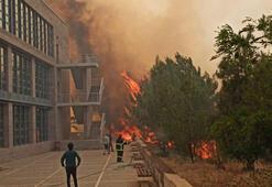 Son dakika I KKTCdeki yangın ODTÜ kampüsüne sıçradı Türkiye harekete geçti