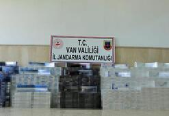 Sınırda ele geçirildi Tam 20 bin paket