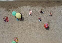 Sosyal mesafeli deniz keyfi