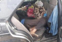 Bir kişi hurda otomobil içerisinde ölü bulundu