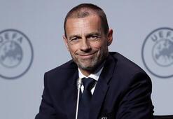 UEFA Başkanı Ceferinden EURO 2020 açıklaması Ev sahibi şehir...