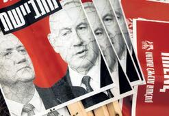İsrailde Netanyahu-Gantz koalisyonu karşıtı gösteri